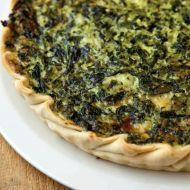 Křehký špenátový koláč recept