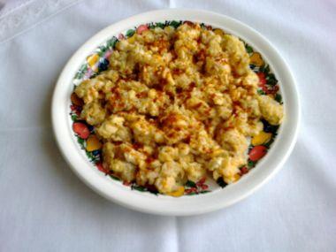 Míchaná vejce s ředkvičkou