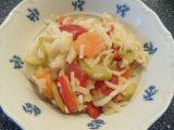 Rýžové nudle se zeleninou recept