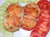 Pečené brambory s lilkovo cuketovou náplní recept