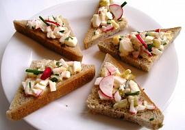 Chuťovky – trojuholníčky recept