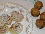 Ořechoví šnečci recept