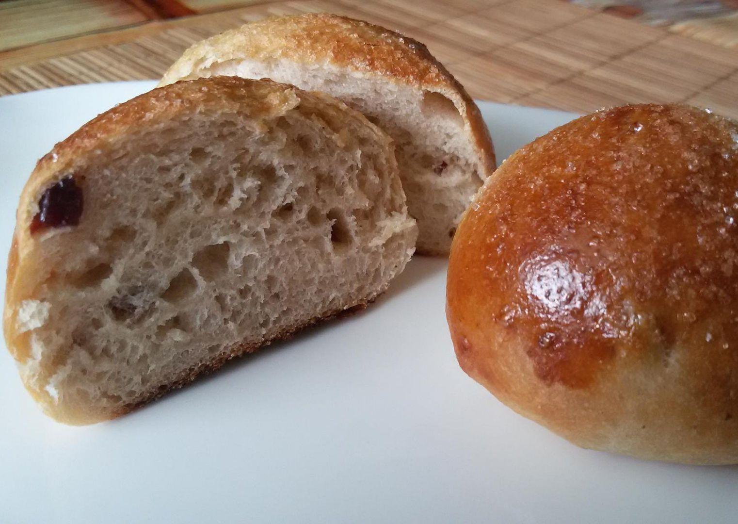 Sladké bulky s brusinkami recept