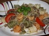 Těstoviny se zelím recept