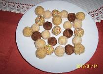 Čokoládové kokosové koule recept