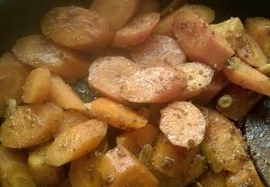 Pikantní kořeněná mrkev