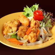 Sladkokyselé maso v těstíčku recept