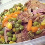 Vepřové na míchané zelenině recept