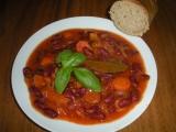 Pečené fazole s mrkví recept