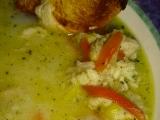 Rybí polévka z nilského okouna recept