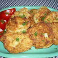 Květákové placičky se sýrem recept