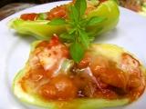 Zapečené papriky s fazoleni recept
