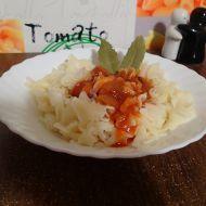 Těstoviny s tomatovou omáčkou recept
