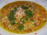 Kuřecí polévka s pohankou recept