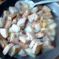 Zahřívací česneková polévka recept