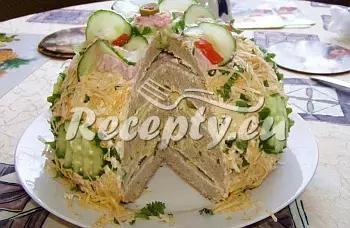 Chlebový dort II. recept  dezerty