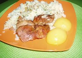 Pečené Krůtí mäso s broskyňou recept