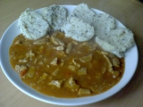 Guláš ze sójového masa recept