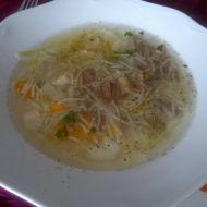Důkladná hovězí polévka recept