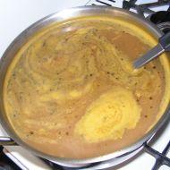 Zeleninový krém s hráškem recept