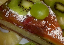 Dortová osvěžující pochoutka s ovocem recept