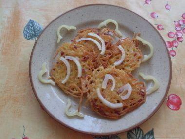 Smaženky špagetové