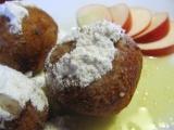 Smažené jablkové knedlíky recept