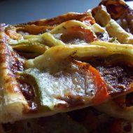 Listový koláč s mozzarellou recept