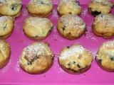 Hrníčkové borůvkové muffiny (bezlepkové) recept