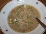 Zahuštěná polévka z mletého masa recept