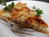 Dvousýrový bramborový koláč recept