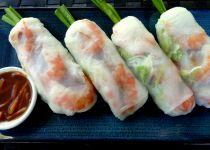 Originální vietnamské nepečené závitky recept