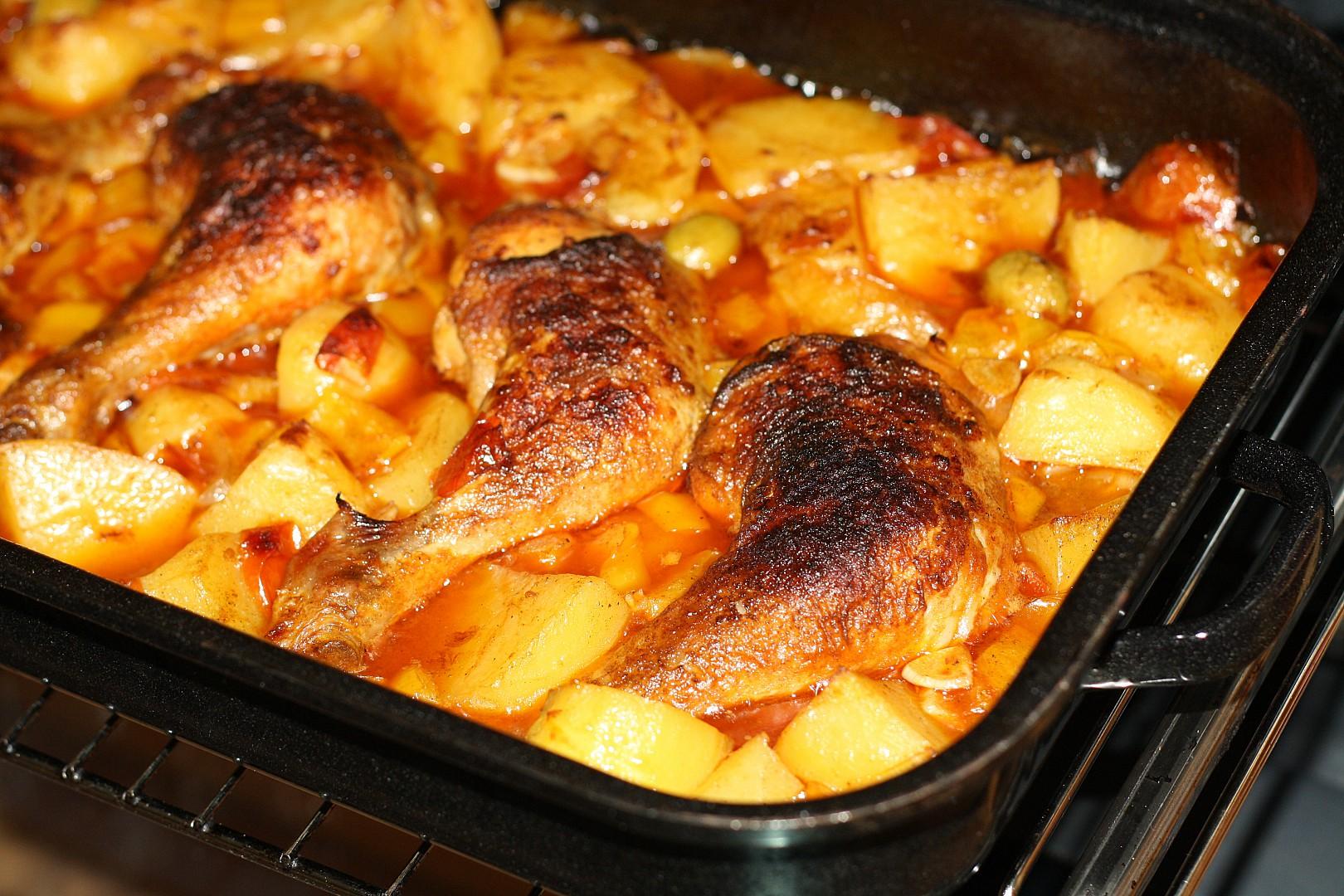 Zase španělské kuře recept