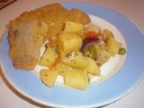 Jamajská escovitch fish s pikantní zeleninou recept