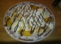 Křupavé palačinky s ovocem recept