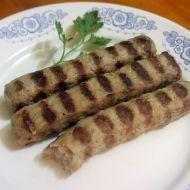 Bulharská kebapčeta na gril recept