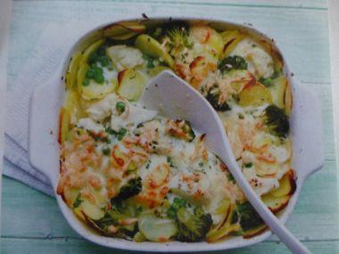 Zapečená zelenina po francouzsku