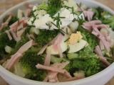 Květákový salát s brokolicí recept
