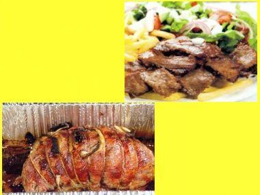 Grilované hovězí maso