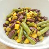 Americký fazolový salát recept