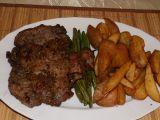 Krkovička na steakovém pepři s fazolkami a brambory recept ...