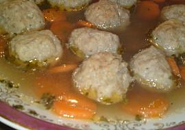 Masovo  sýrové knedlíčky do polévky recept