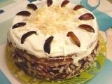 Královský švestkový dort recept