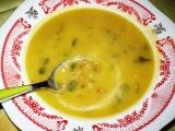 Polévka z dýně s pohánkou recept