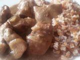 Pikantní kuřecí játra s bulgurem recept