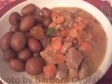Dušené maso s mrkví recept