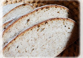 Chleba z ovocné fermentované vody recept