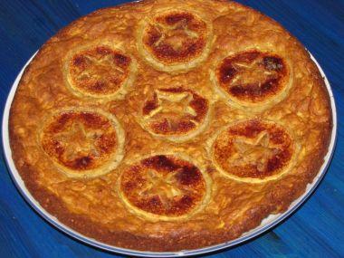 Jablečný koláč rychlý