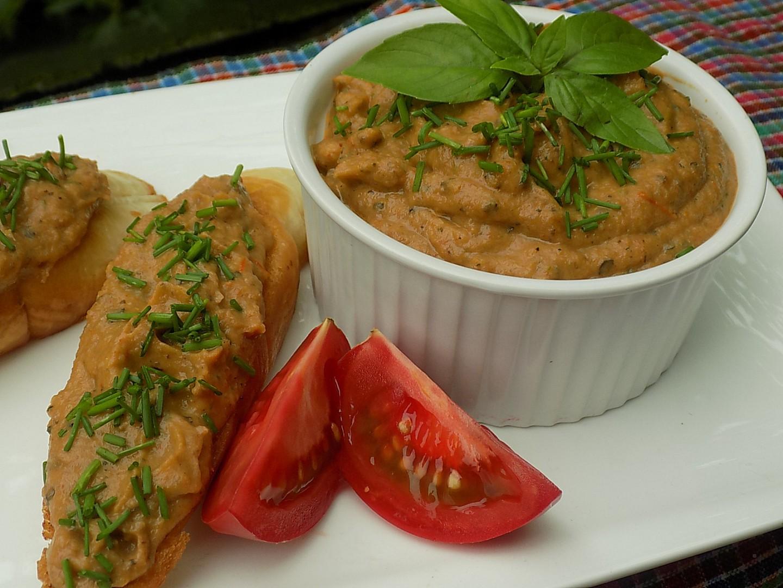 Letní pomazánka z pečené zeleniny recept