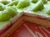 Zasněžené kiwi řezy recept